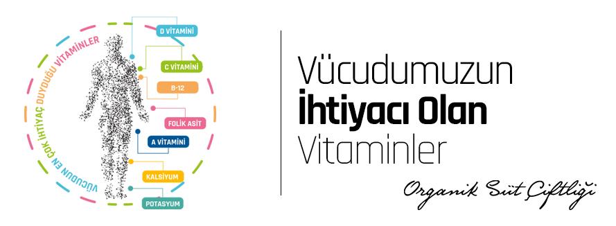 Vücudumuzun En Çok İhtiyaç Duyduğu Vitaminler !